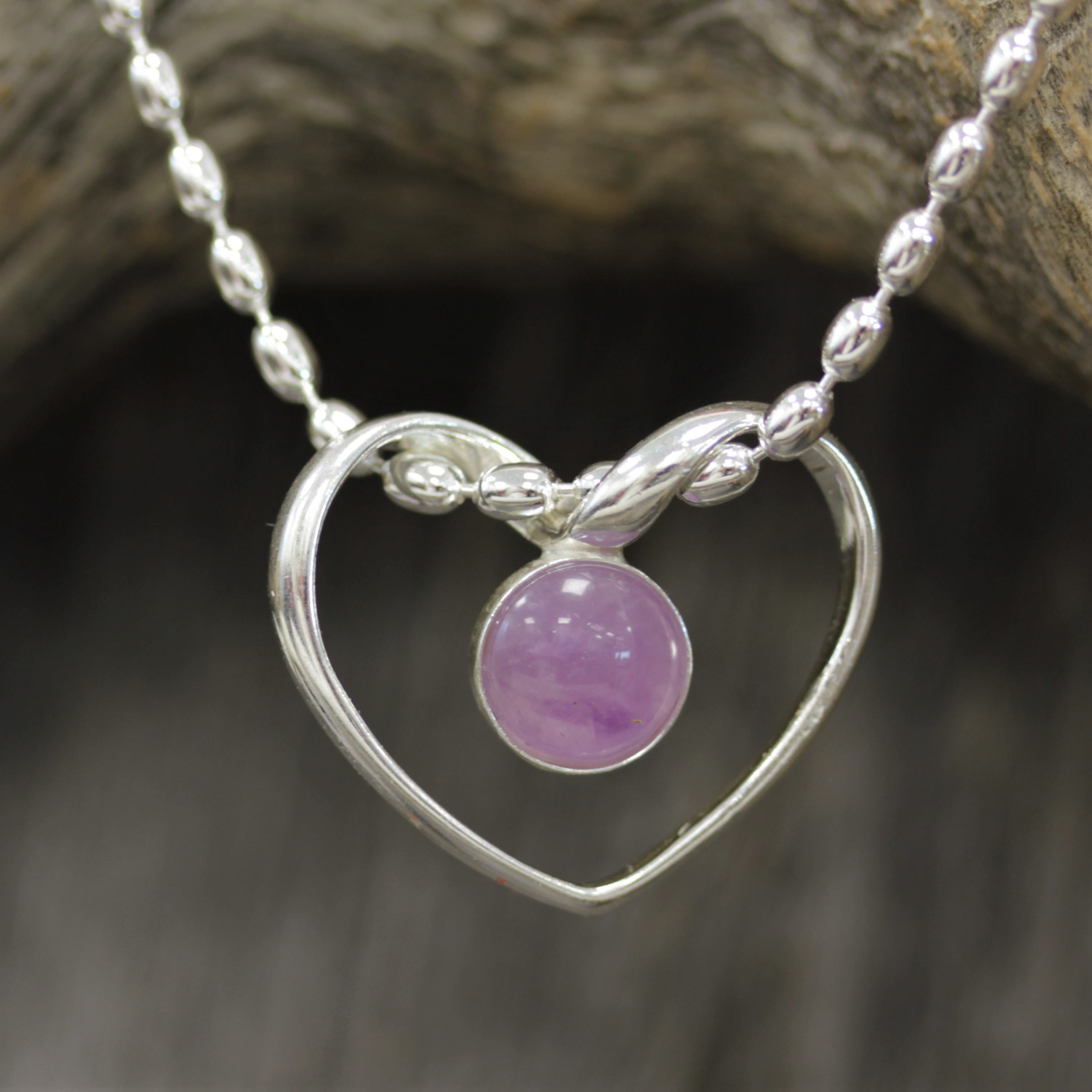 333047eeed With Love amethyst pendant